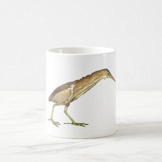 Realistic Little Bittern Bird Basic White Mug