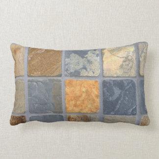 Realistic Slate Tiles Lumbar Cushion
