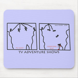 Reality Adventure Shows Mouse Pad