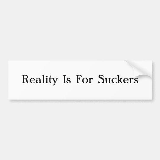 Reality Bumper Sticker