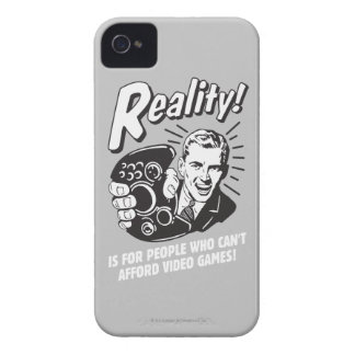 Reality Can t Afford Video Games Case-Mate iPhone 4 Cases