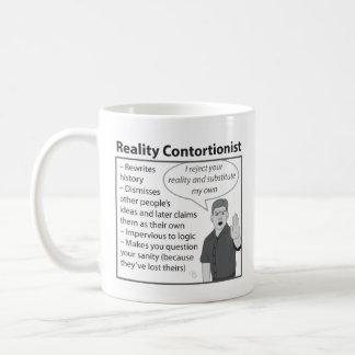 Reality Contortionist Coffee Mug