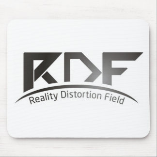Reality Distortion Field Mouse Mat