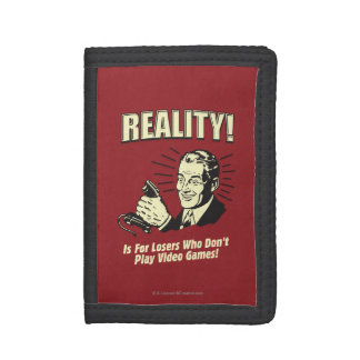 Reality: For Losers Trifold Wallets