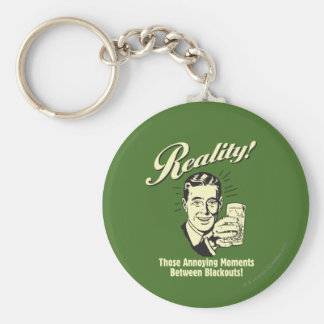 Reality: Moments Between Blackouts Basic Round Button Key Ring
