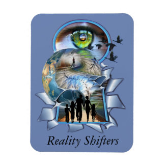 Reality Shifters Rectangular Photo Magnet