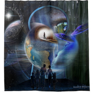 Reality Shifters Shower Curtain
