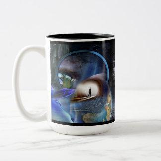 Reality Shifters Two-Tone Coffee Mug