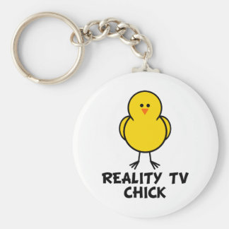 Reality TV Chick Key Ring