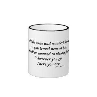 Realization of Self Location Philospohical Mug