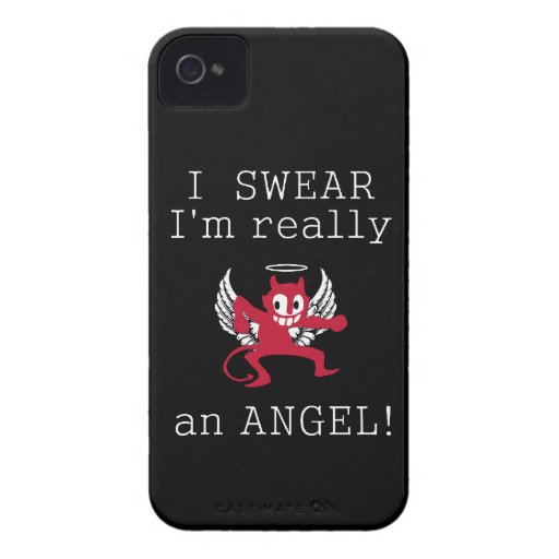 Really an Angel Blackberry Bold case