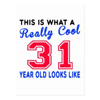 Really cool 31 postcard