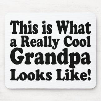 Really Cool Grandpa Pad Mouse Pad
