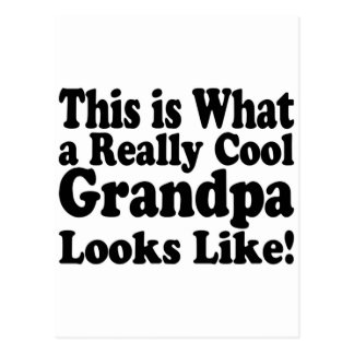 Really Cool Grandpa Postcard