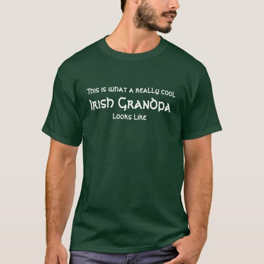 Really cool Irish Grandpa T-Shirt