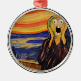 REALLY Freaked OUT! Christmas Ornament