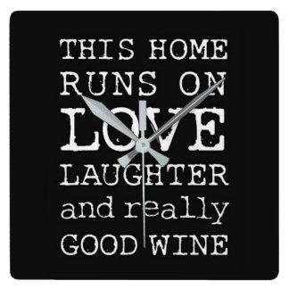 Really Good Wine Clock
