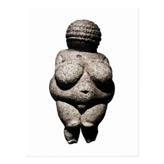 Really Old Women: Venus of Willendorf Postcard