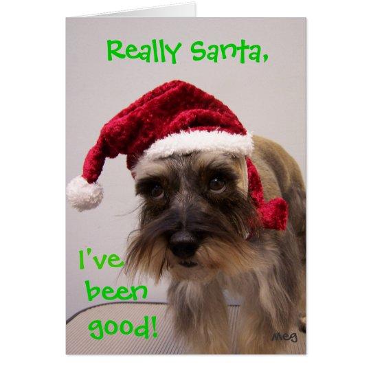 Really Santa! Card