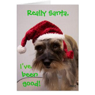Really Santa! Note Card