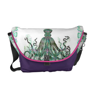 Realm Of The Octopus Customizable Commuter Bag