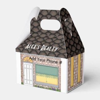 Realtor Open House Home Shape Treat Box