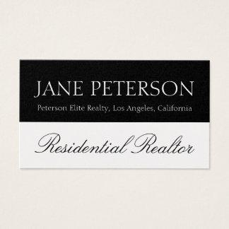 Realtor Real Estate Broker Agent Sales Script Business Card