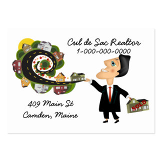 Realtor Salesman Pack Of Chubby Business Cards