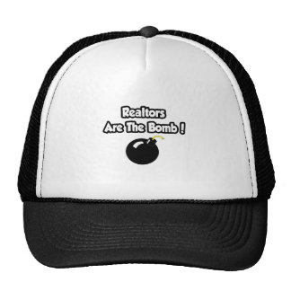 Realtors Are The Bomb! Mesh Hats