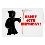Reaper 60th Birthday Card