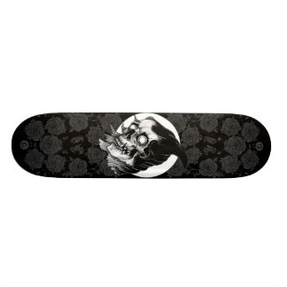 Reaper and Rose Custom Skate Board