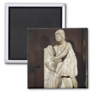 Reaper: June from a statuary Square Magnet
