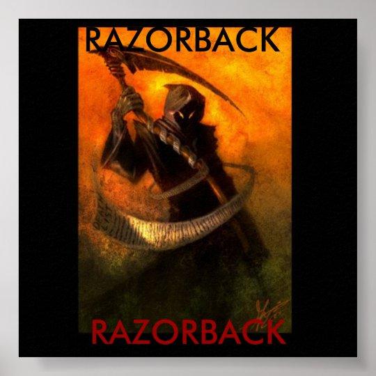 reaper razorback poster