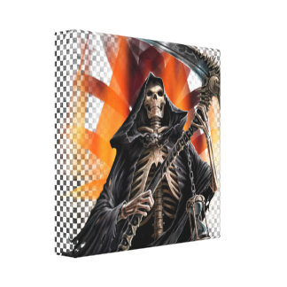 Reaper - Wrapped Canvas