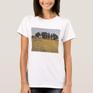 Reapers Resting in a Wheat Field T-Shirt