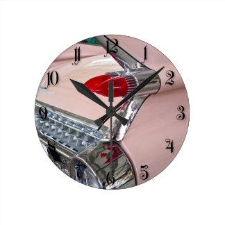 Rear of Cadillac Sedan de Ville Round Clock