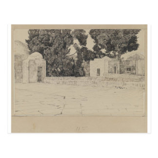 Rear of the Mosque of Omar by James Tissot Postcard