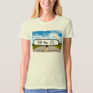 Rear View Mirror Ladies Organic T-Shirt (Fitted)