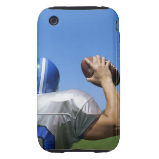 rear view of a football player throwing a tough iPhone 3 cover