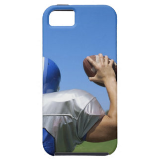 rear view of a football player throwing a tough iPhone 5 case