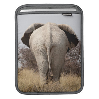 Rear view of elephant sleeve for iPads
