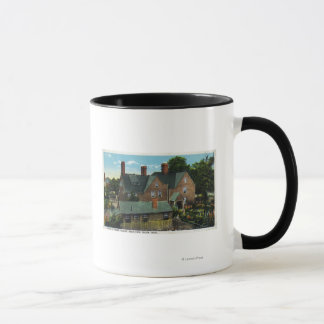 Rear View of the House of Seven Gables Mug