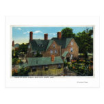 Rear View of the House of Seven Gables Postcards