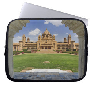 Rear view of Umaid Bhawan Palace hotel, Jodjpur, Laptop Sleeve