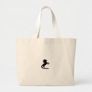 Rearing Black Stallion.png Bags