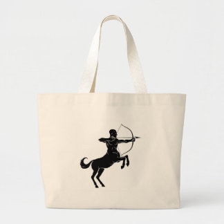 Rearing Centaur Archer Large Tote Bag