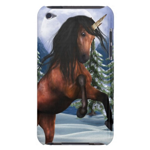 Rearing Chestnut Unicorn iTouch Case iPod Case-Mate Cases