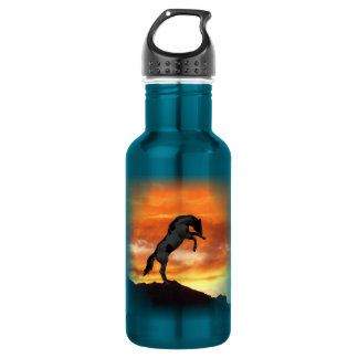 Rearing Horse 18oz Water Bottle 532 Ml Water Bottle