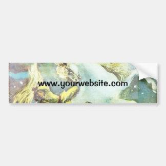 Rearing Horse Bumper Sticker