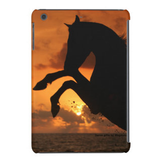 Rearing horse in the sunset cover iPad mini retina cases